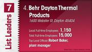 Behr Dayton Thermal Products is the No. 4 Dayton-area manufacturing company.
