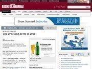 4. Top 20 selling beers of 2011