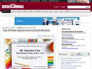 4. Top 50 Best Dayton-area school districts by performance scores slideshow
