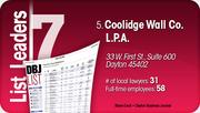 Coolidge Wall Co. L.P.A. is the No. 5 Dayton-area law firm.