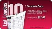 Teradata Corp. is the No. 5 Dayton-area company.