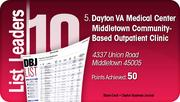 Dayton VA Medical Center Middletown Community-Based Outpatient Clinic is the No. 5 Dayton-area LEED certified project.