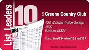 Greene Country Club is the No. 5 Dayton-area Private Golf Course.