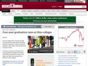 5. Four-year graduation rates at Ohio colleges