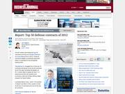 5. Top 50 largest military contracts of 2012 at Wright-Patterson Air Force Base