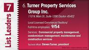 Turner Property Services Group Inc. is the No. 6 Dayton-area commercial real estate firm.