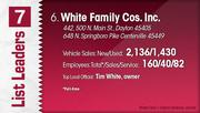 White Family Cos. Inc. is the No. 6 Dayton-area vehicle dealership.