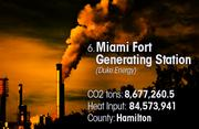 Miami Fort Generating Station is the No. 6 worst facility for toxic air pollution in Ohio.