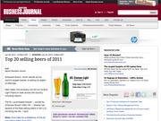 6. Top 20 selling beers of 2011