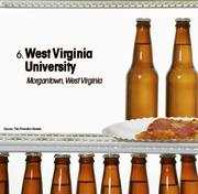 West Virginia University is the No. 6 party school.