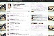 Kim Kardashian is No. 6 with 8,711,998 followers.