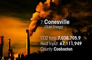 Conesville is the No. 7 worst facility for toxic air pollution in Ohio.