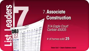 Associate Construction is the No. 7 Dayton-area home builder.