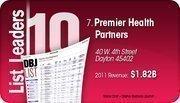 Premier Health Partners is the No. 7 Dayton-area company.