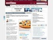 7. Public company acquiring Dayton pizza chain