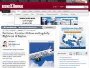 7. Exclusive: Frontier Airlines ending daily flights out of Dayton International Airport