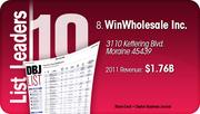 WinWholesale Inc. is the No. 8 Dayton-area company.