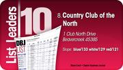 Country Club of the North is the No. 8 Dayton-area Private Golf Course.