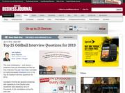 8. Top 25 Oddball Interview Questions for 2013