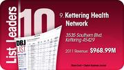 Kettering Health Network is the No. 9 Dayton-area company.