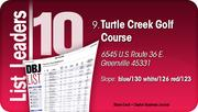 Turtle Creek Golf Course is the No. 9 Dayton-area Public Golf Course.