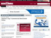 9. Dayton's Top 7 Commercial Real Estate Firms