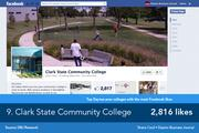 Clark State Community College uses its Facebook to reach out to students and alumni and list campus activities and speakers.