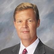 Ron Amos, market president of U.S. Bank Dayton Bachelor's degree in business 1976, Master's degree in business administration, 1984