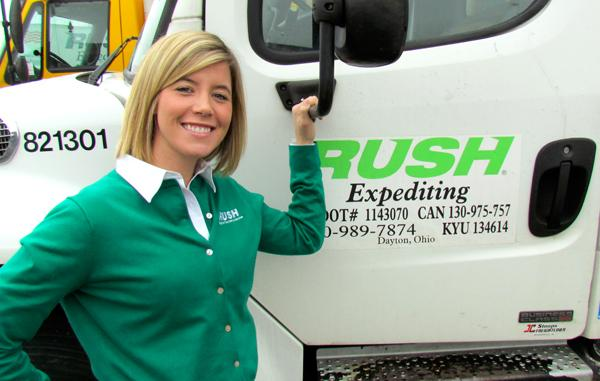 Ashley Parker is president of Dayton-based Rush Expediting Inc.