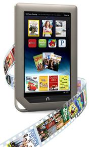 Barnes & Noble's Nook tablet saw sales soar over the holiday season.