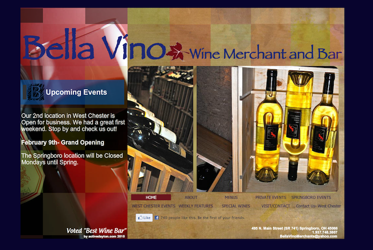 Bella Vino Wine Merchants & Bar opened its first West Chester location and its second overall.