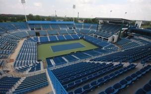 Western & Southern Open pro tennis tournament