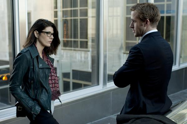 Ryan Gosling and Marisa Tomei in Columbia Pictures' political thriller THE IDES OF MARCH.