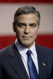 Governor Morris (George Clooney) delivers a major speech at Kent State University in Columbia Pictures' political thriller THE IDES OF MARCH.