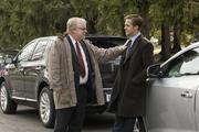 Philip Seymour Hoffman (left) and Ryan Gosling star in Columbia Pictures' IDES OF MARCH.