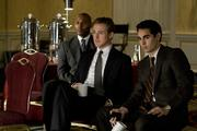 Ryan Gosling (left) and Max Minghella in Columbia Pictures' political thriller THE IDES OF MARCH.