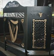 Dublin Pub is one of the few establishments in Dayton that have trained staff who studied in Ireland on just how to pour the perfect pint of Guinness Stout.
