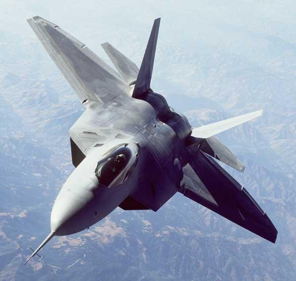 Lockheed Martin and Northrop Grumman won separate deals that combine to top $7 billion with U.S. Air Force, including updating the F-22 fighter jet.