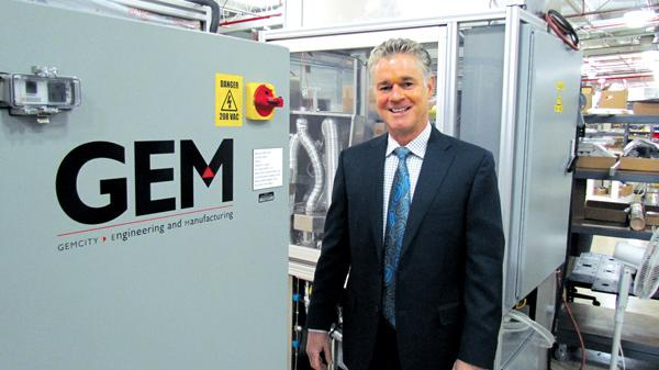Jim Whalen is CEO of Dayton-based GemCity Engineering and Manufacturing