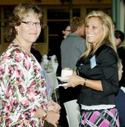 Attendees at the Healthiest Employers in Dayton awards banquet enjoyed a networking hour, as well as displays with health information and a healthy breakfast.