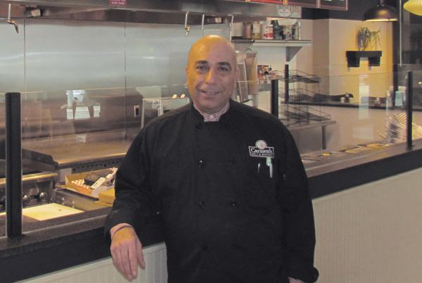 Haitham Iman is owner and chef at Carmen's Deli and Bistro, located in the Kettering Tower in downtown Dayton.