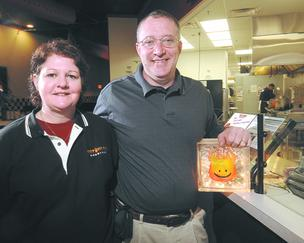 Cynthia and Ray Wiley, co-owners of Hot Head Burritos, have overseen rapid growth of their chain.