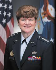 """U.S. Air Force Gen. Janet Wolfenbarger, commander, Air Force Materiel Command:In June, Gen. Janet Wolfenbarger became the first female four-star general in the U.S. Air Force and assumed the top position at Air Force Materiel Command.But perhaps just as impressive is the way she worked her way up the higher ranks at """"lightning speed."""" In less than six months during 2009, Wolfenbarger was promoted to Major General and then Lieutenant General.""""Her ascension to four-star has been quite remarkable and indicative of her capabilities,"""" said Dan Curtis, owner of Beavercreek-based Curtis Consulting. Wolfenbarger's success comes from the rare combination of being highly intelligent while having a strong presence and approachability, Curtis added.The general also loves a challenge, something which is clearly demonstrated by her laundry list of leadership roles, said Michael Bridges, president of Fairborn-based Peerless Technologies Corp.""""Her leadership comes just a the right time to work though some of the toughest challenges AFMC has ever faced; evolving asymmetric and cyber threats, expanding worldwide missions, and daunting potential budget cuts,"""" Bridges said.AFMC has about 80,000 people managing a $60 billion annual budget. It oversees research, development, test and evaluation while providing the acquisition management services and logistics support required to develop, procure and sustain Air Force weapon systems.Wolfenbarger also is considered a significant Air Force figure because she was a graduate of the 1980 Air Force Academy class, the first to include women."""