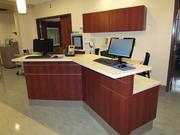 A new high-tech nurses station inside the five-story patient tower at Miami Valley Hospital South in Centerville.