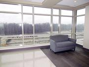 The waiting area on one of the floors in the new patient tower at Miami Valley Hospital South in Centerville.