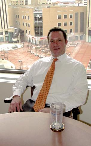 Dave Melin is president of PNC Bank's Dayton operations.