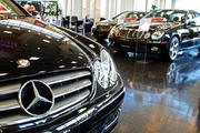 Mercedes sales climbed along with most of the luxury car market.