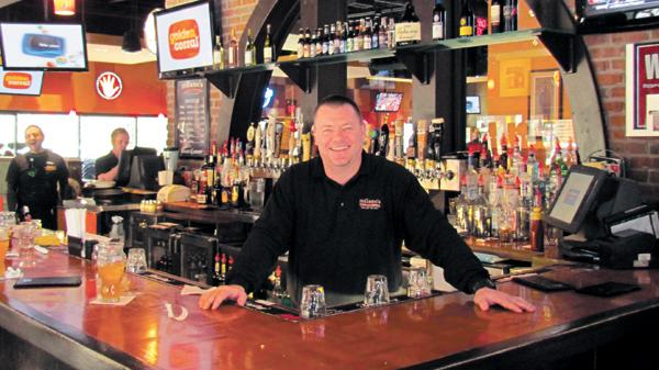 Nate Bauman, district manager for Milano's, said his sports-themed restaurant will be packed with basketball fans all week, and will host an official Ohio State Buckeyes rally on Sunday.