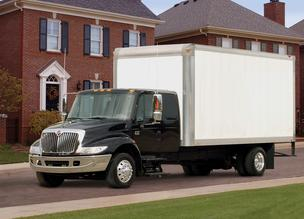 Navistar International's DuraStar medium truck. The company is adding 40 workers at its truck assembly plant in Springfield.