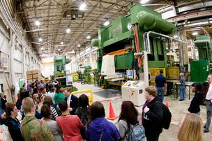 Dayton-area manufacturers hosted more than 1,000 students last week as part of a national industry campaign to attract workers.